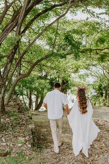 Tropical wedding in Costa Rica