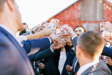 Romantic fall barn wedding at Stemple Creek Ranch