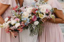 Spring wedding bouquets
