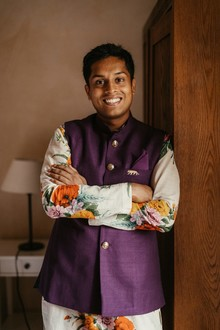 Indian groom's fashion