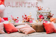 Cherry themed kids Valentine's Day party ideas