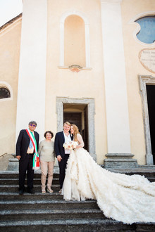 Lake Como wedding at Villa Balbianello