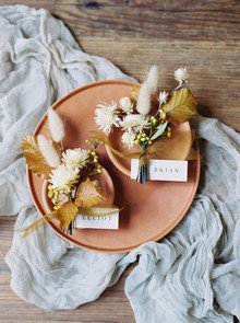 dried flower boutonnières