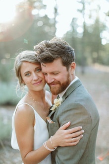 Steph + Austin Hendrix outdoor California wedding