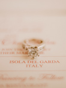 Romantic engagement ring