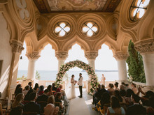 destination wedding at Isola del Garda in Italy