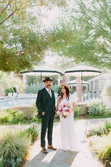 stylish vow reneal in Palm Springs