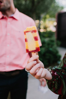 popsicles for wedding