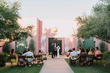 wedding at The Sands Hotel Palm Springs