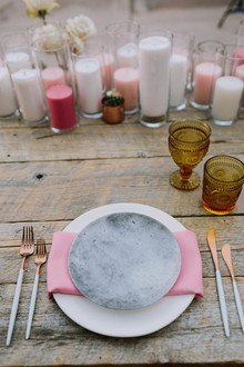stoneware place setting