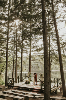Fall Cedar Lakes estate wedding