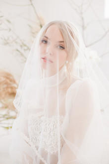 bridal veil portrait