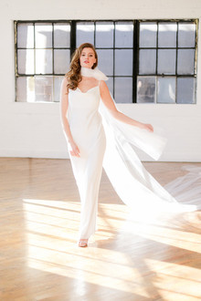 modern minimalist bridal fashion
