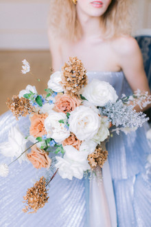 dried wedding bouquet
