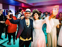 A 40th birthday party wedding festival in Portugal