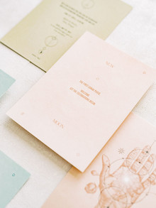 pretty wedding stationery