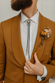 desert inspired grooms fashion