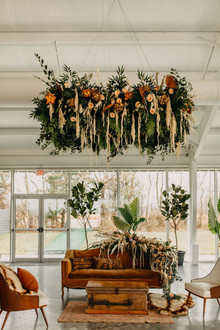 modern desert inspired wedding