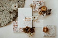 boho wedding invitations