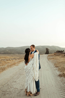 boho lace wedding dress