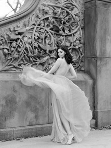 Fall bridal session in Central Park