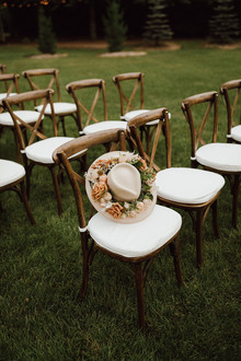Backyard Summer wedding