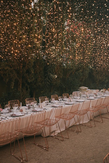 Spanish wedding reception