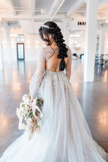 Hailey Paige wedding gown