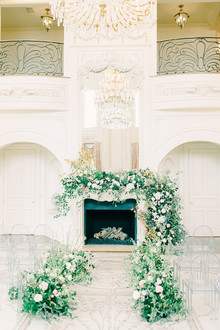 Elegant fireplace decor