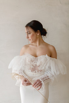 Anna Fucà wedding gown