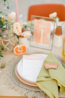 Summer tropical wedding