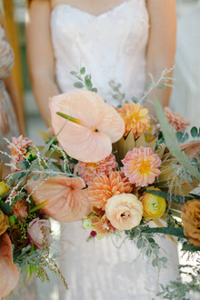 Palm Springs wedding flowers