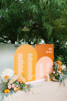 Ace Hotel Palm Springs wedding decor