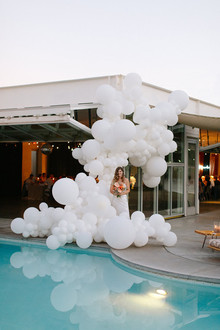 Ace Hotel Palm Springs wedding portrait