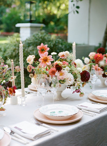 Micro wedding reception