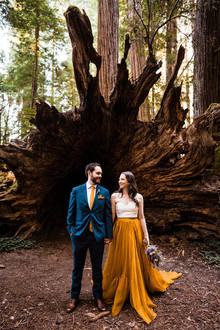 forest elopement