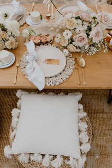 boho beach bridal shower