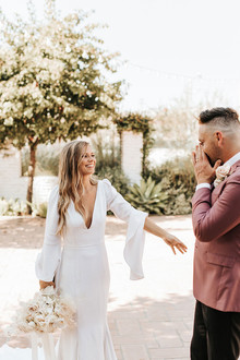 modern California elopement