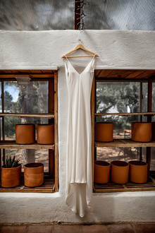 Santa Fe wedding dress