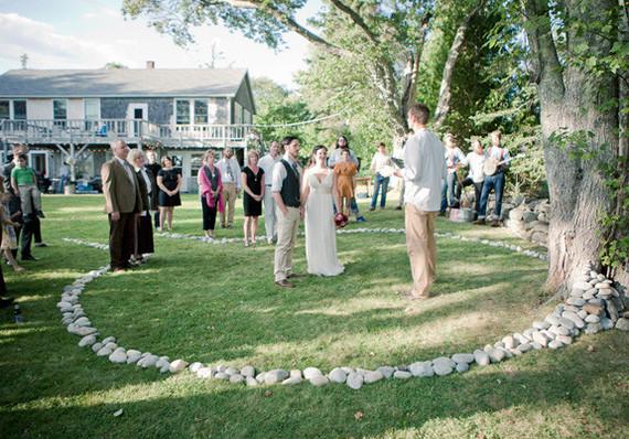 Beautiful simple outdoor ceremony wedding party ideas for Simple outdoor wedding ceremony ideas
