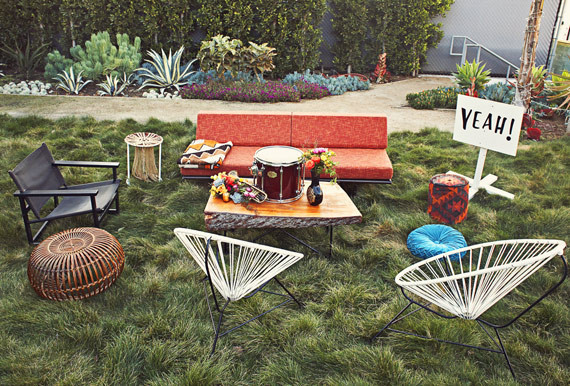 Bohemian Yeah! Rental Furniture
