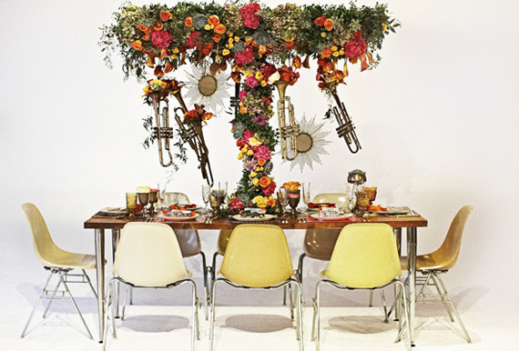 60s Rock-n-Roll Tablescape