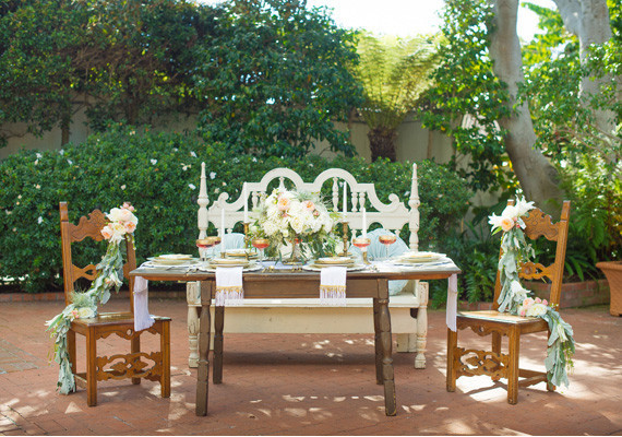 Romantic Latin Inspired Tablescape