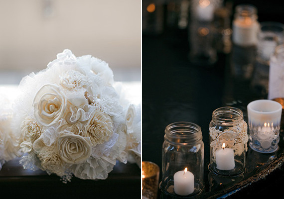 Vintage Glam Seattle Wedding