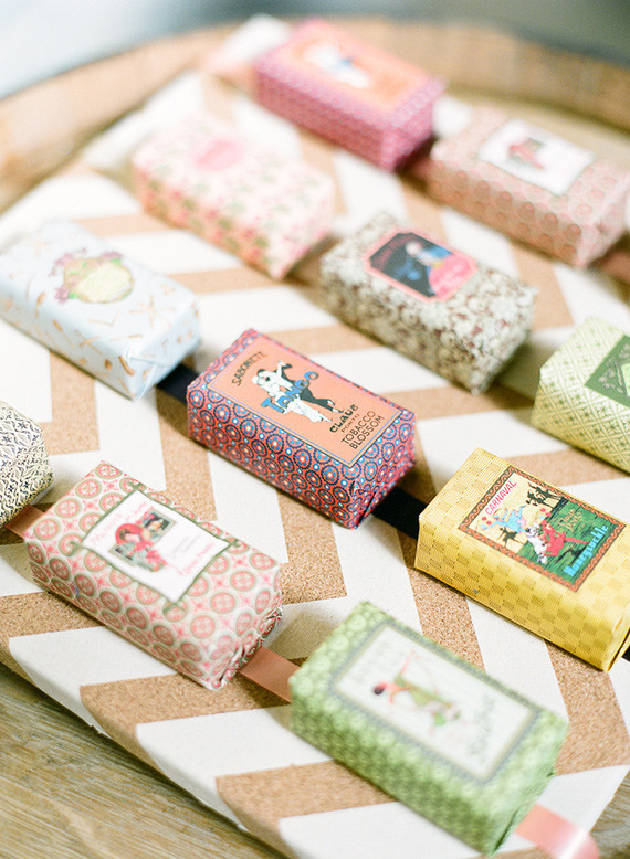 Soap wedding favors