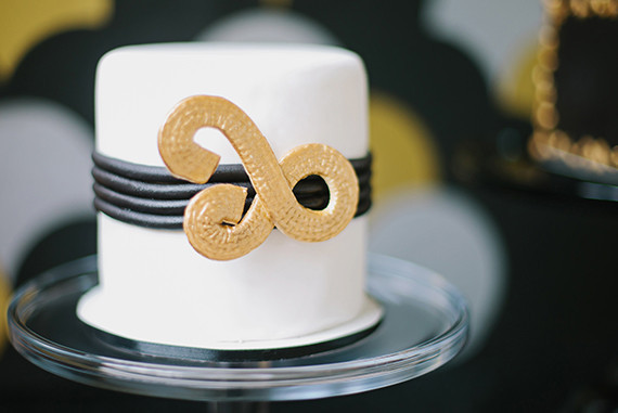 Art Deco wedding cakes
