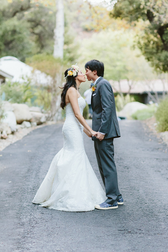 Whimsical California Wedding Portrait