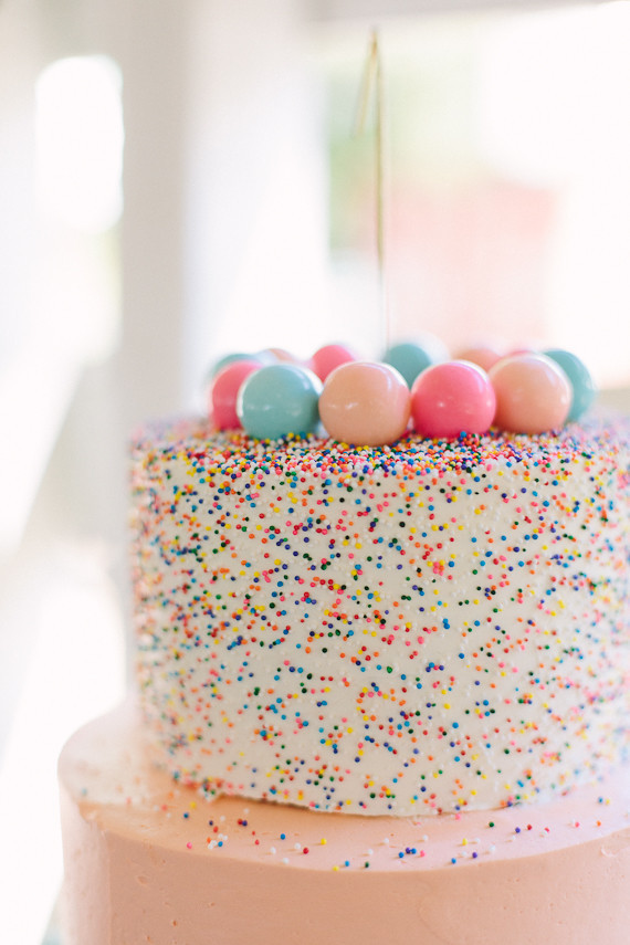Gumball Confetti Birthday Cake Wedding Amp Party Ideas