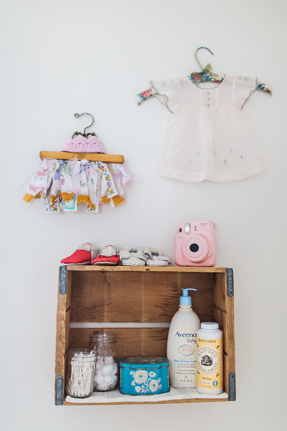 Vintage nursery ideas | Poiema Photography | 100 Layer Cakelet
