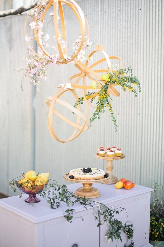 Modern spring wedding inspiration